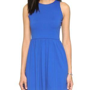 NWT Susana Monaco Amy Blue Fit and Flare Dress